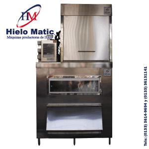 Maquina de hielo triturado con capacidad de producción de media tonelada