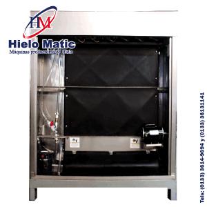 Fabricadora de Hielo Triturado con capacidad de producción de 2000 kilos cada 24 horas